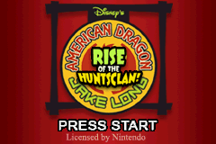 American Dragon Jake Long Rise of the Huntsclan GBA Screenshot Screenshot 1