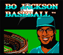 Bo Jackson's Baseball NES Screenshot Screenshot 1