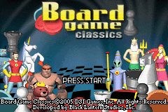 Board Game Classics GBA Screenshot Screenshot 1