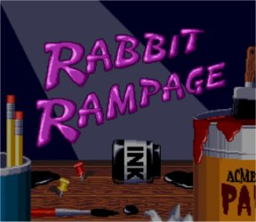 Bugs Bunny Rabbit Rampage SNES Screenshot Screenshot 1