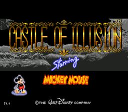 Castle of Illusion Starring Mickey Mouse Sega Genesis Screenshot 1