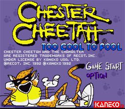 Chester Cheetah Too Cool To Fool Super Nintendo Screenshot 1