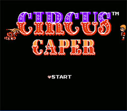 Circus Caper NES Screenshot Screenshot 1