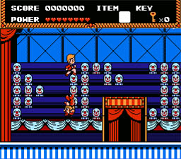 Circus Caper NES Screenshot Screenshot 2