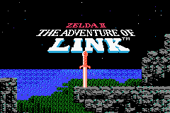 Classic NES Series: Zelda II: The Adventure of Link Gameboy Advance Screenshot 1