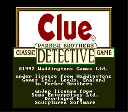 Clue Genesis Screenshot Screenshot 1