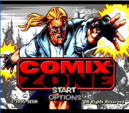 Comixzone Genesis Screenshot Screenshot 1