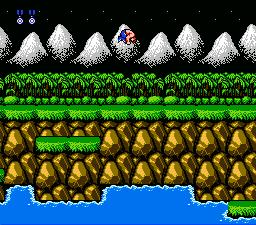 Contra NES Screenshot Screenshot 2