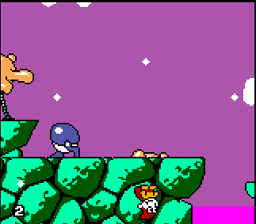 Cosmic Spacehead Gamegear Screenshot Screenshot 2