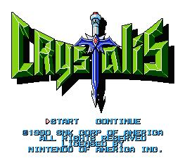 Crystalis NES Screenshot Screenshot 1