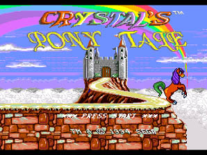 Crystal's Pony Tale screen shot 1 1