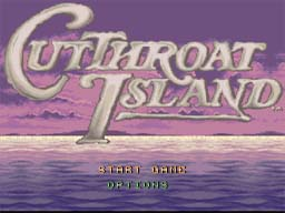 Cutthroat Island SNES Screenshot Screenshot 1