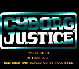 Cyborg Justice Genesis Screenshot Screenshot 1