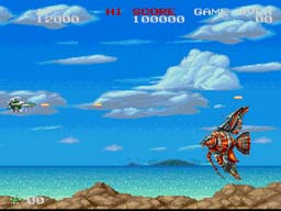 Darius Twin SNES Screenshot Screenshot 2