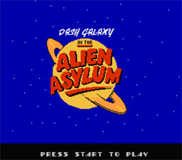 Dash Galaxy NES Screenshot Screenshot 1