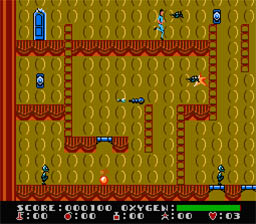 Dash Galaxy NES Screenshot Screenshot 2