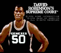 David Robinson's Supreme Court Genesis Screenshot Screenshot 1