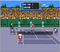 Davis Cup Tennis Genesis Screenshot Screenshot 3