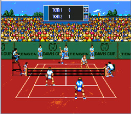 Davis Cup Tennis Genesis Screenshot Screenshot 4