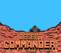 Desert Commander NES Screenshot Screenshot 1