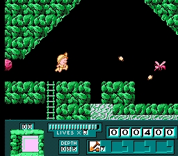 Digger T. Rock NES Screenshot Screenshot 2