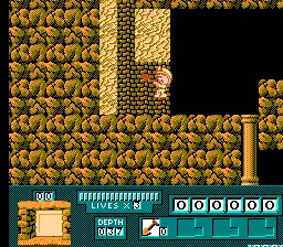 Digger T. Rock NES Screenshot Screenshot 4