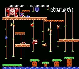 Donkey Kong Classics NES Screenshot Screenshot 2