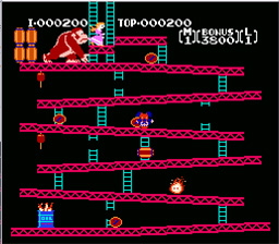 Donkey Kong Classics NES Screenshot Screenshot 3