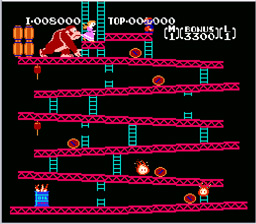 Donkey Kong Classics NES Screenshot Screenshot 4