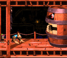 Donkey Kong Country 3: Dixie Kong's Double Trouble! SNES Screenshot Screenshot 2