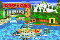 Donkey Kong Country 3 GBA Screenshot Screenshot 1