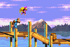 Donkey Kong Country 3 screen shot 2 2