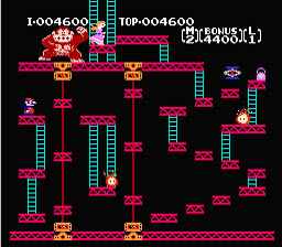 Donkey Kong NES Screenshot Screenshot 3