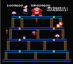 Donkey Kong NES Screenshot Screenshot 4