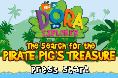Dora the Explorer Pirate Pig's Treasure GBA Screenshot Screenshot 1