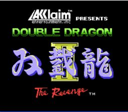Double Dragon 2 NES Screenshot 1