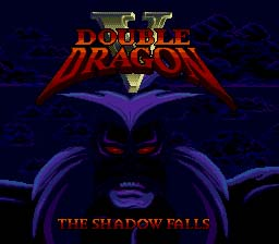 Double Dragon 5: The Shadow Falls Sega Genesis Screenshot 1
