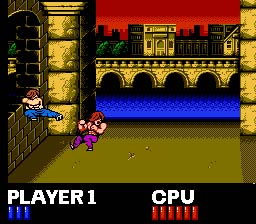 Double Dragon NES Screenshot Screenshot 3
