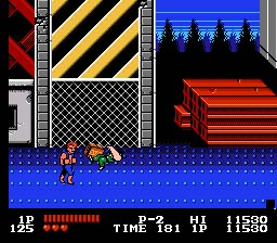 Double Dragon NES Screenshot Screenshot 4