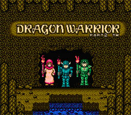 Dragon Warrior 2 NES Screenshot Screenshot 1