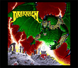 Drakkhen SNES Screenshot Screenshot 1