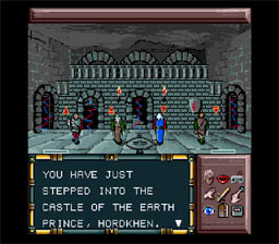 Drakkhen SNES Screenshot Screenshot 2