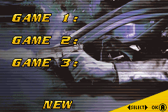 Driver 3 GBA Screenshot Screenshot 1