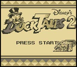 Duck Tales 2 Gameboy Screenshot Screenshot 1