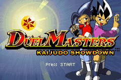 Duel Masters Kaijudo Showdown GBA Screenshot Screenshot 1