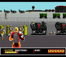 Dynamite Duke Genesis Screenshot Screenshot 2
