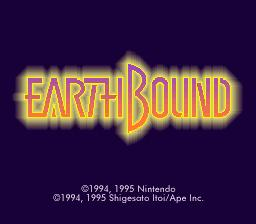 EarthBound SNES Screenshot Screenshot 1