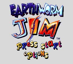 Earthworm Jim Genesis Screenshot Screenshot 1