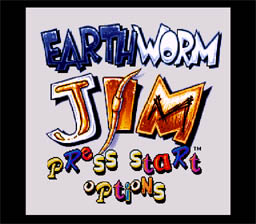 Earthworm Jim SNES Screenshot Screenshot 1