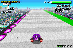 F-Zero Maximum Velocity screen shot 2 2
